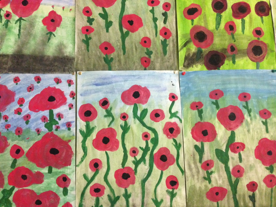 Poppies for ANZAC Day